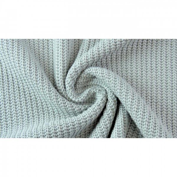 Grob-Strickstoff Knitted Cotton Cable - col. 0426 lind