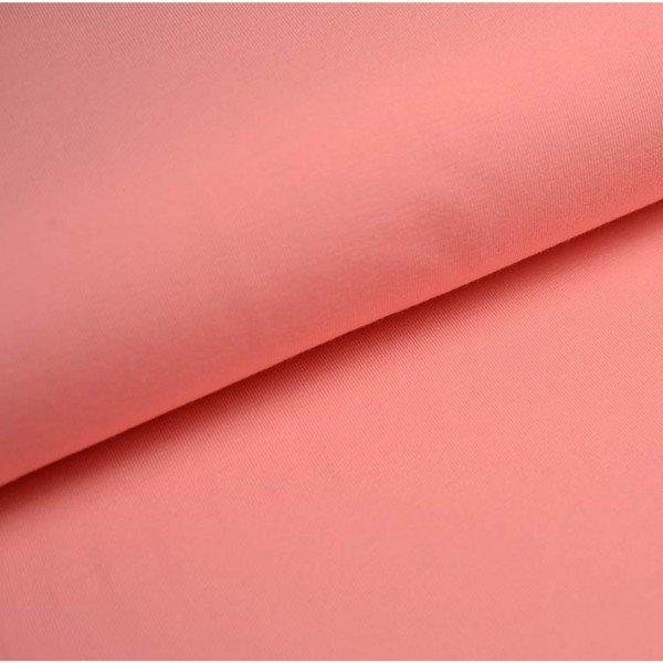 Jersey Bündchen Schlauch Uni - col. 613 flamingo