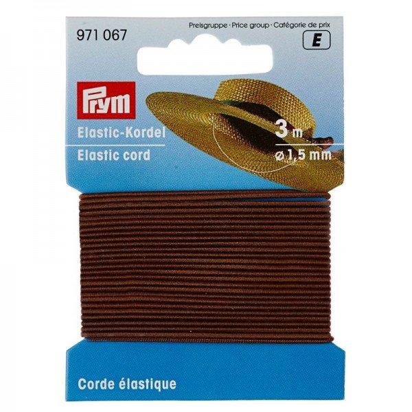 Elastic-Kordel 1,5 mm braun 3 m