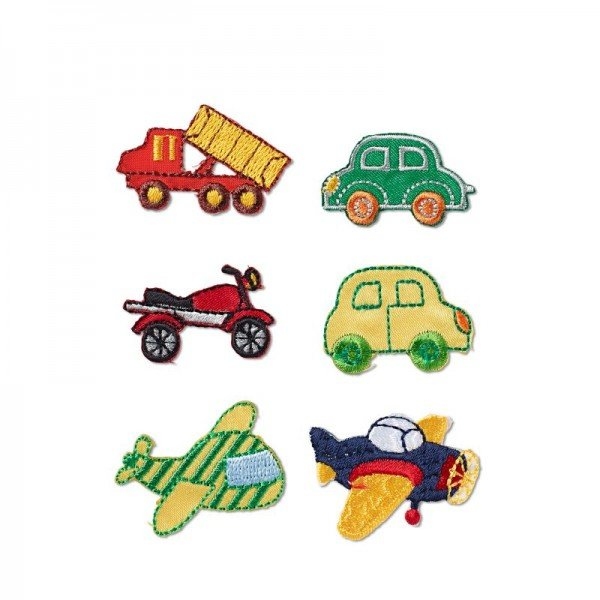 Applikation Kids and Hits - Fahrzeuge 6 Stk.