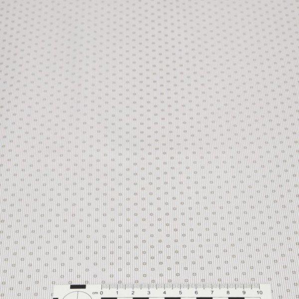 Popelin 50´S Print - col. PEC081 Grey