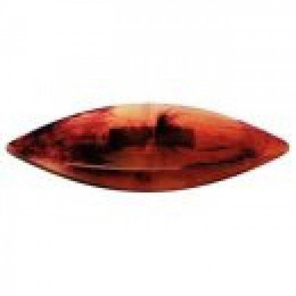 Occhi-Schiffchen schildplattfarben 7 cm
