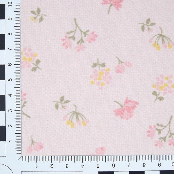 Baumwoll-Stoffe Viena Print - col. 68192 Pink Emily