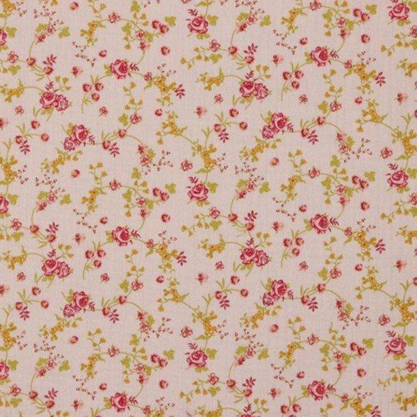Double Gauze Flower Garden - col. 002 rosa