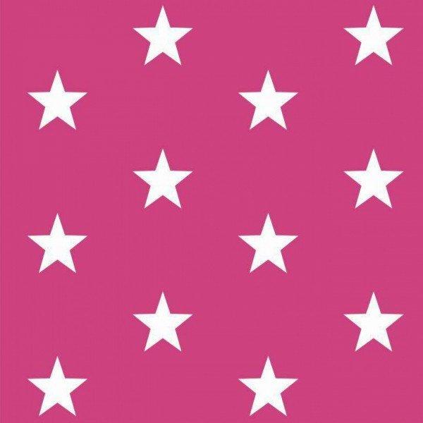 Baumwolle Design Stars - col. 006 pink