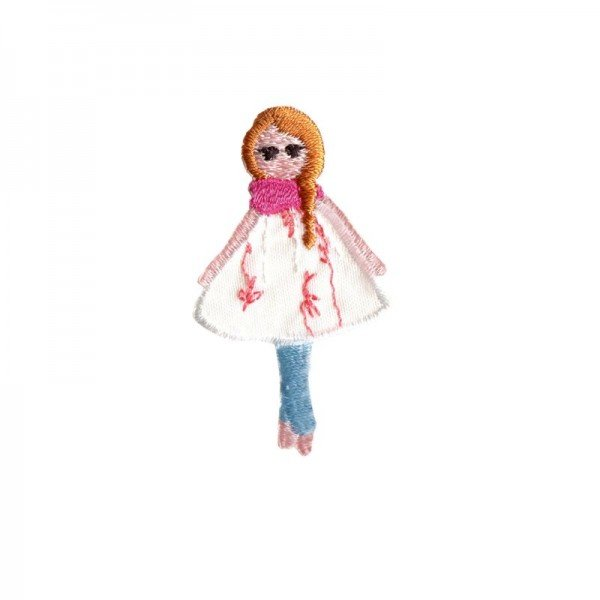 Applikation Kids and Hits - Puppe rotes Haar