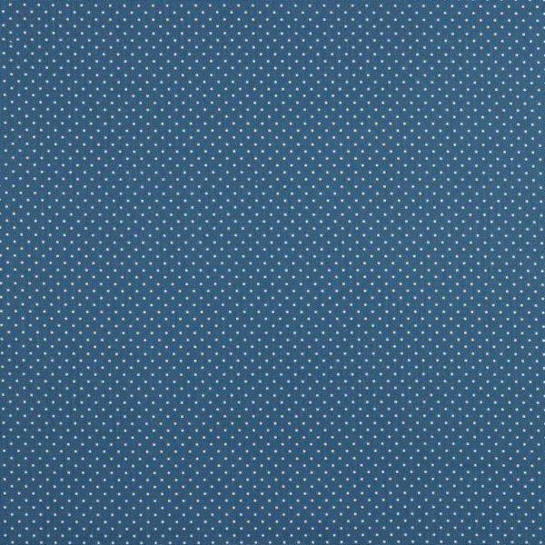 Baumwolle Design Petit Dots - col. 025 indigo