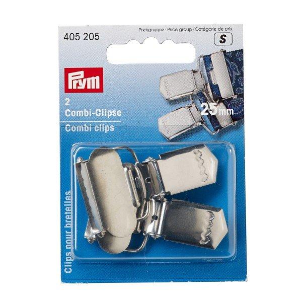 Combi-Clips, 30mm, silberfarbig