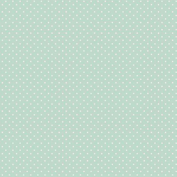 Baumwolle Design Petit Dots - col. 011 mint