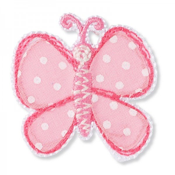 Applikation Kids and Hits - Schmetterling rosa
