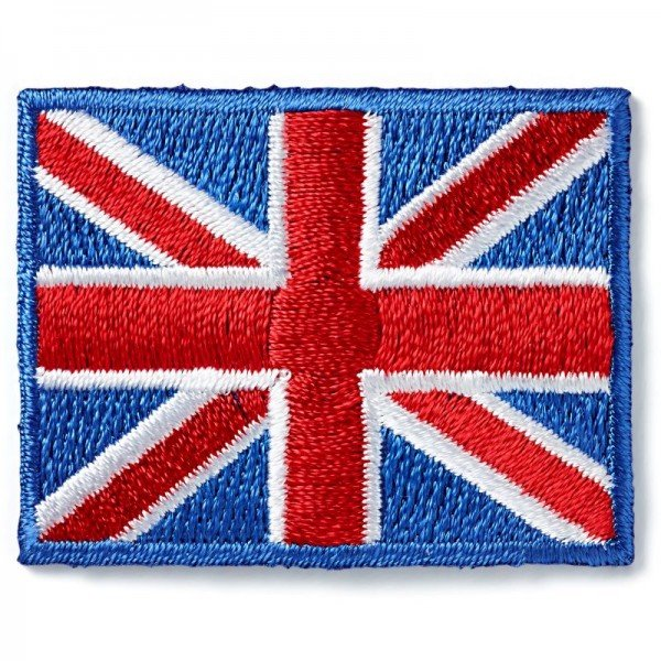 Applikation Teens and Jeans - UK-Flagge