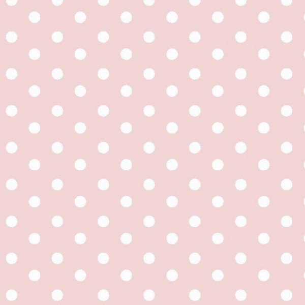 Baumwolle Design Dots - col. 021 hellrosa