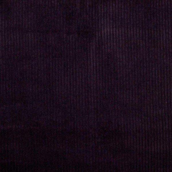 Washed Cord Uni - col. 039 aubergine