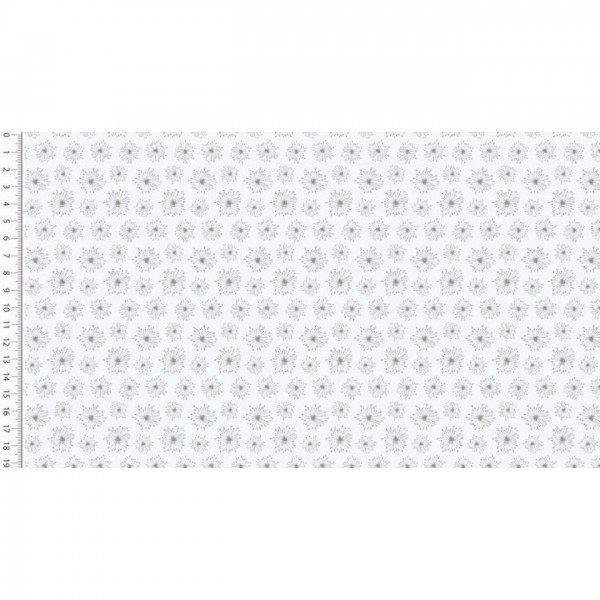 Baumwolle Design Poplin Cute - col. 1451 weiß