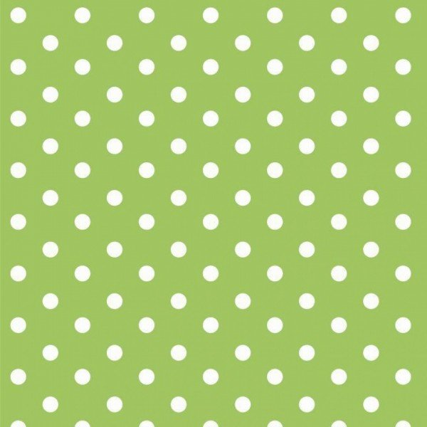 Baumwolle Design Dots - col. 008 lime
