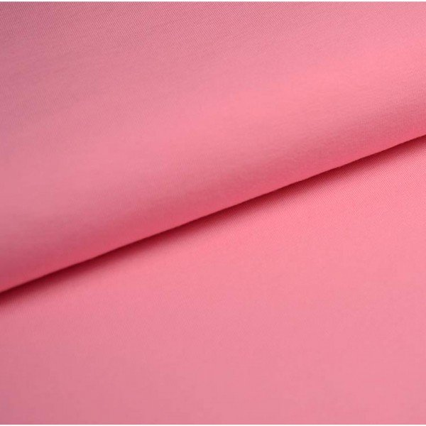 Jersey Bündchen Schlauch Uni - col. 610 rosa