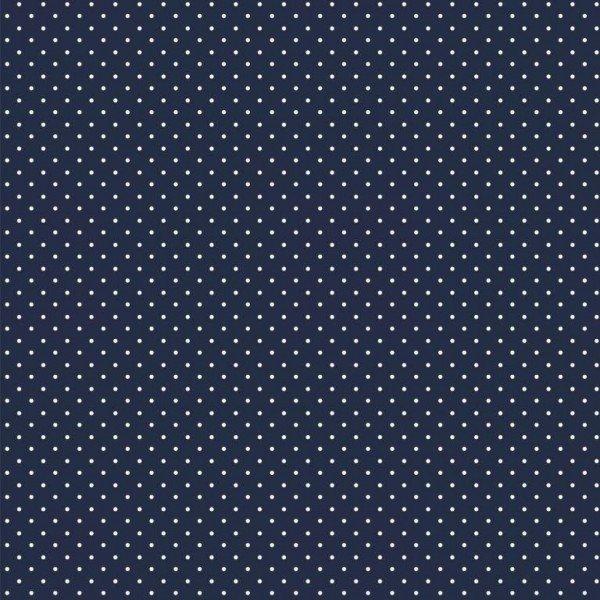 Baumwolle Design Petit Dots - col. 002 navy