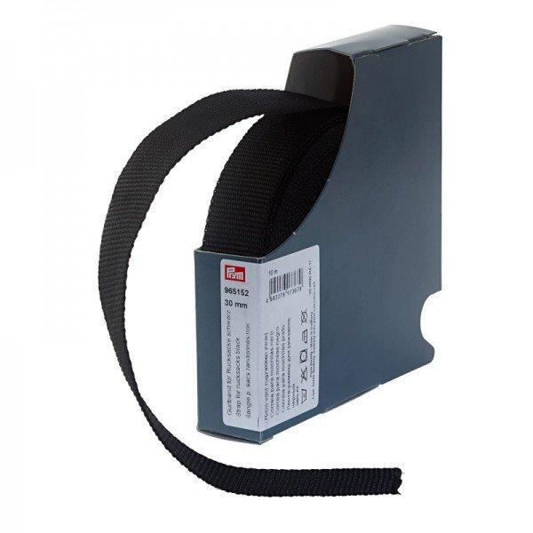 Gurtband für Rucksäcke 30 mm schwarz 10 m