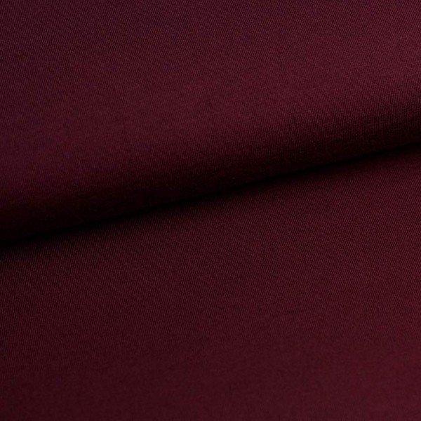 Jersey Bündchen Schlauch Uni - col. 509 burgund