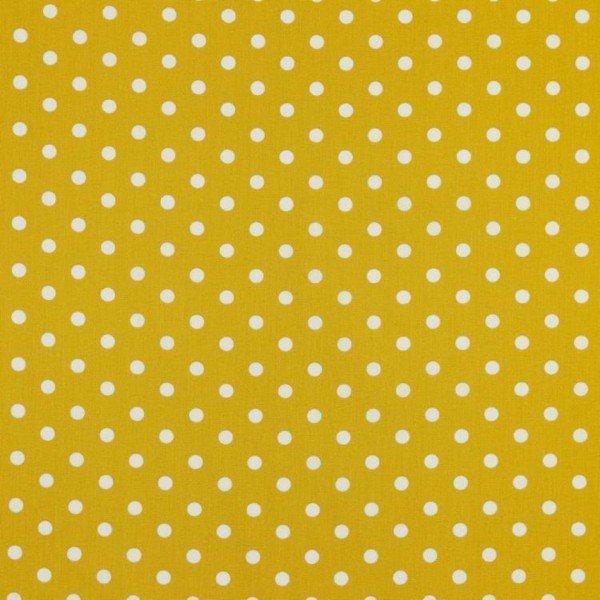 Baumwolle Design Dots - col. 026 ocker