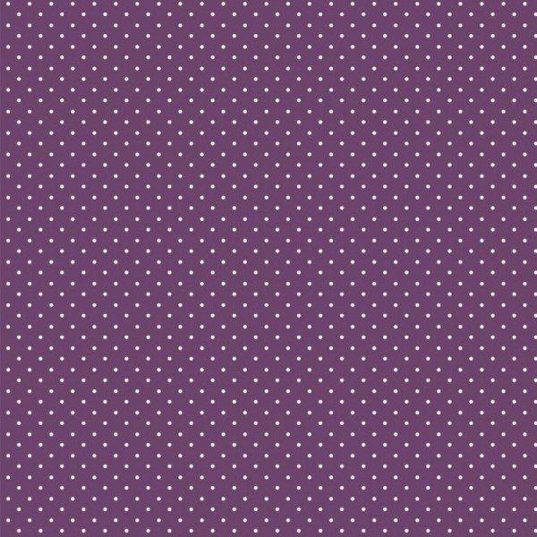 Baumwolle Design Petit Dots - col. 007 purple
