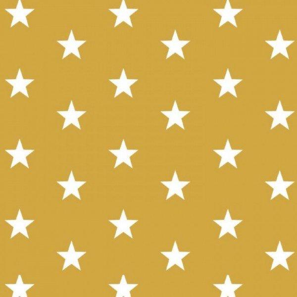 Baumwolle Design Stars - col. 026 ocker