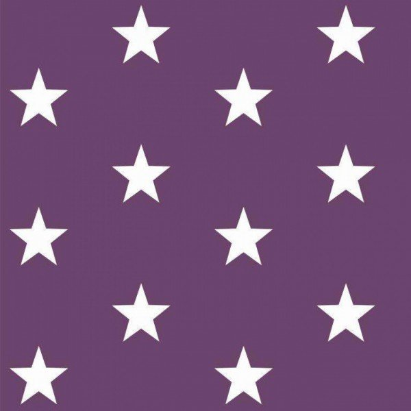 Baumwolle Design Stars - col. 007 purple
