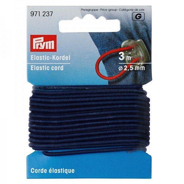 Elastic-Kordel 2,5 mm marine 3 m