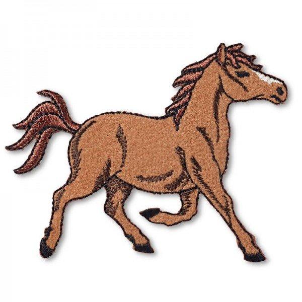 Applikation Tiermotive - Pferd rennend