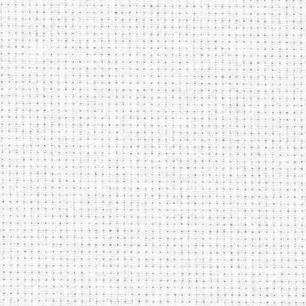 Stern-Aida 5,4 Stiche/cm, Gewebe zum Sticken, 110 cm - 100 weiß