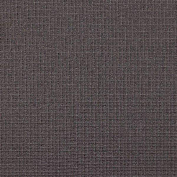 Waffel-Stoff - col. 002 anthrazit