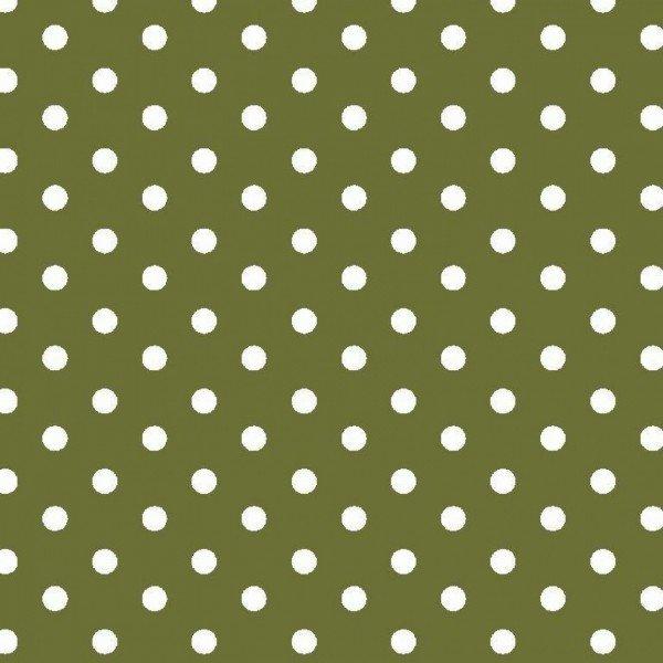 Baumwolle Design Dots - col. 017 grün