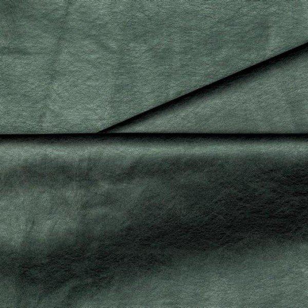 Kunstleder Uni - col. 034 green metallic