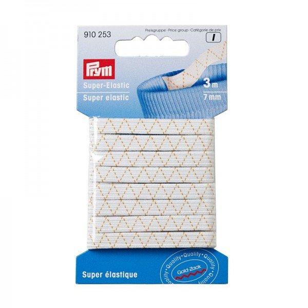 Super-Elastic 7 mm weiß 10 m