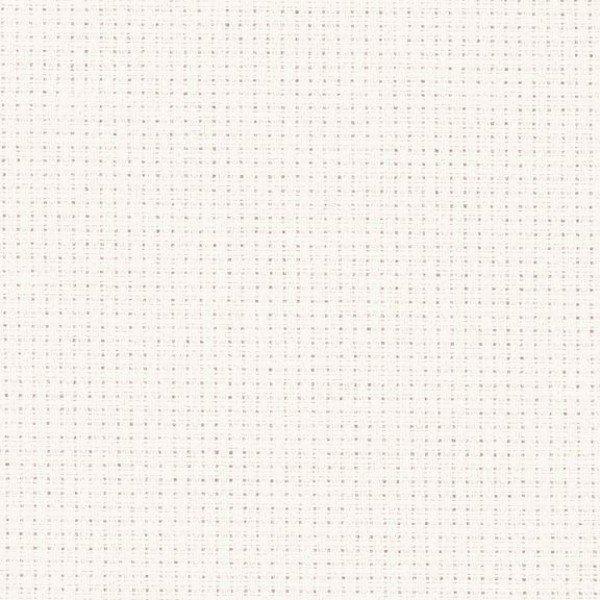 Stern-Aida 5,4 Stiche/cm, Gewebe zum Sticken, 110 cm - 101 creme
