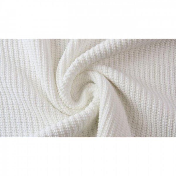 Grob-Strickstoff Knitted Cotton Cable - col. 0051 natur
