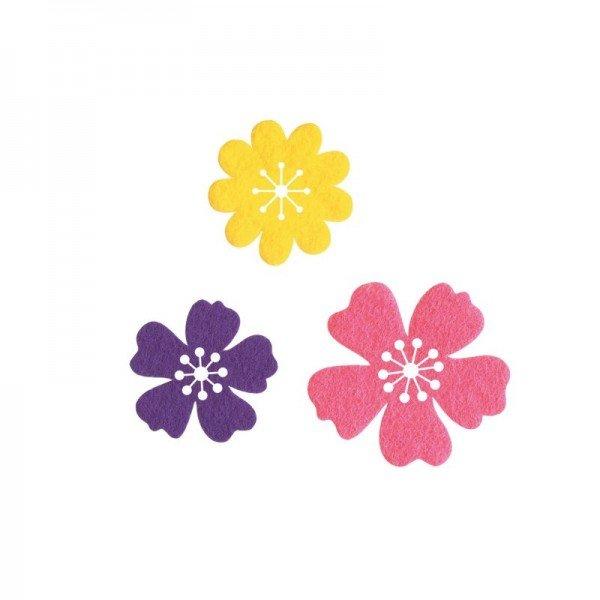 Applikation Kids and Hits - aufbügelbar/ - Blumen bunt