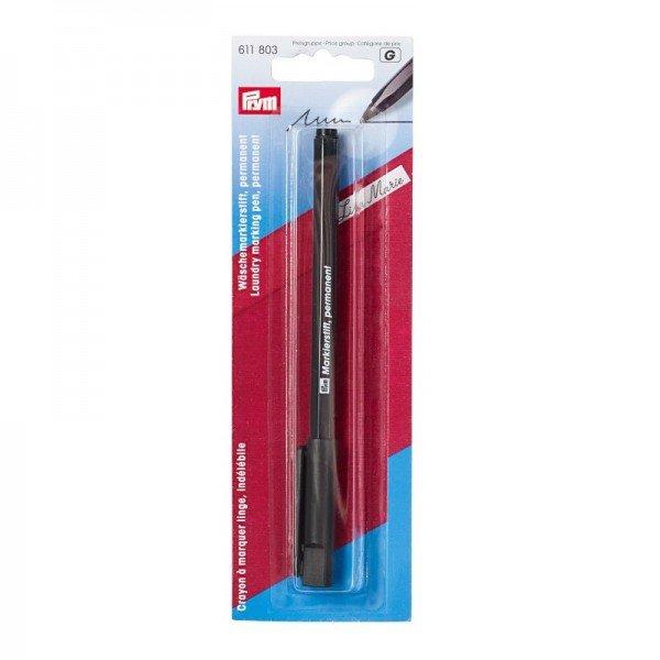 Markierstift permanent schwarz