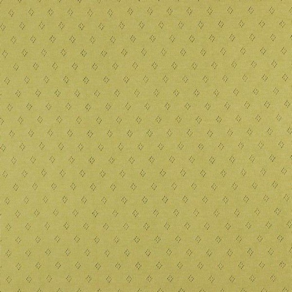 Jersey Baumwolle Pointoille Uni - col. 010 misted yellow